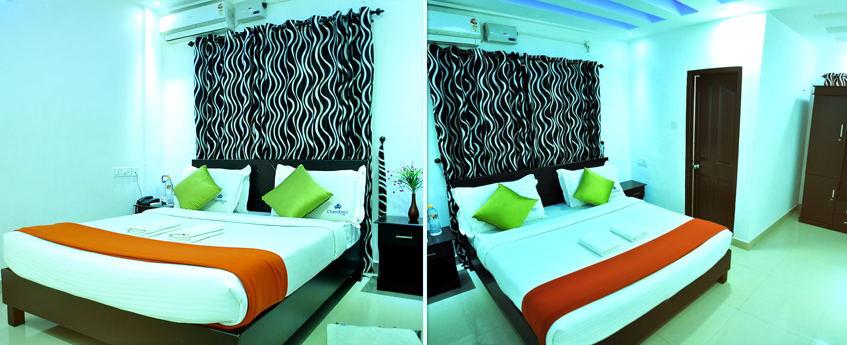 SPACIOUS AND LUXURIOUS AC SUITES