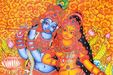 Chandana inn guruvayoor for Asha mural painting guruvayur